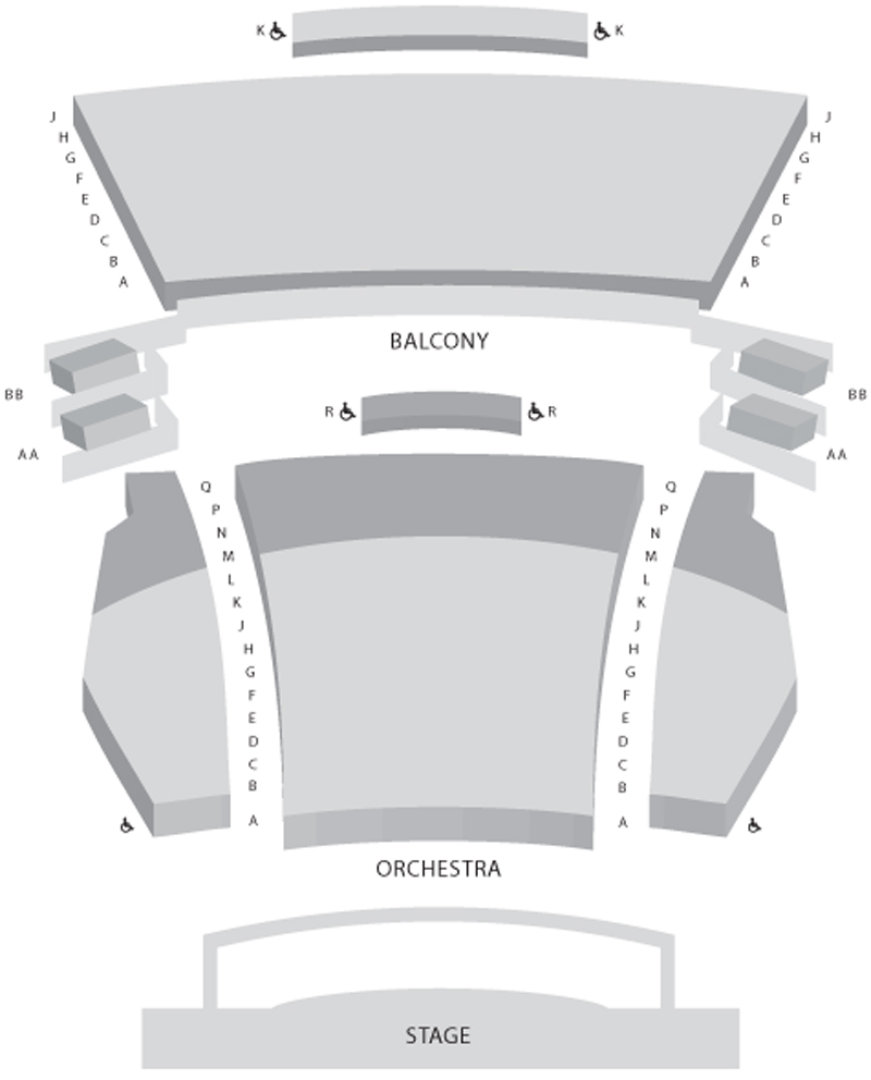 Paramount Center Seating Chart