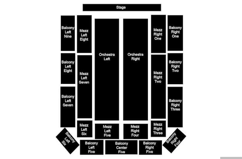 Plymouth Memorial Hall Seating Chart