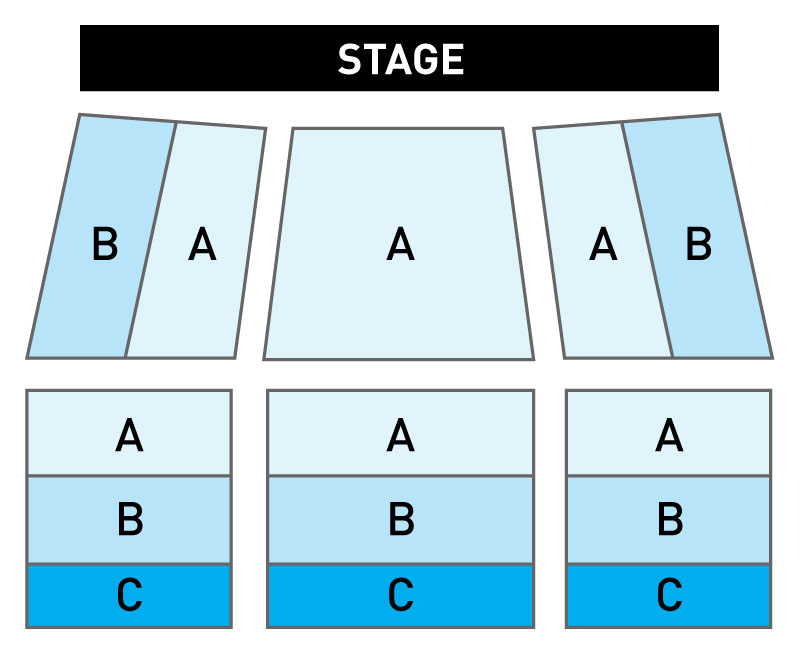 Wheelock Family Theatre Seating Chart